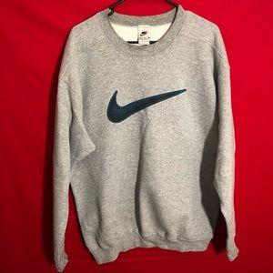 Vintage Nike big swoosh sweatshirt